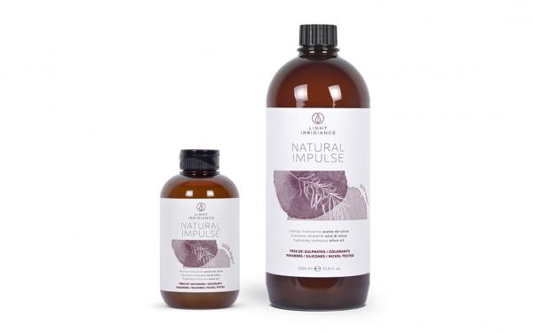 shampoo idratante natural impuls