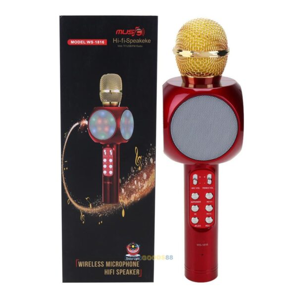 Microfono wireless hifi speaker